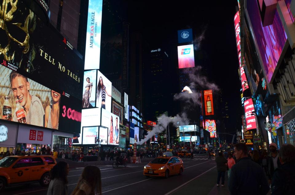 In zahlreichen der alten New York Filme wird der Times Square noch als gefährliches Pflaster dargestellt...