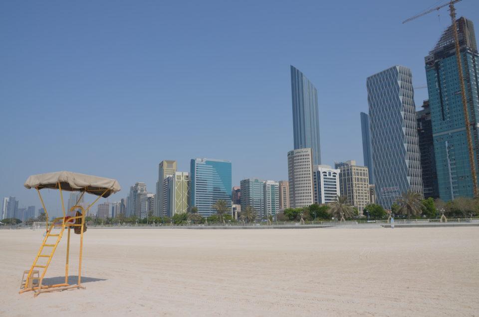 Corniche Beach - eine der beliebtesten Abu Dhabi Sehenswürdigkeiten