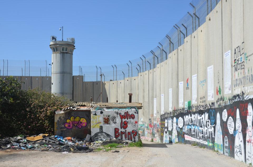 Ohne Frage die beeindruckendste der Bethlehem Sehenswürdigkeiten für mich: die Separation Wall