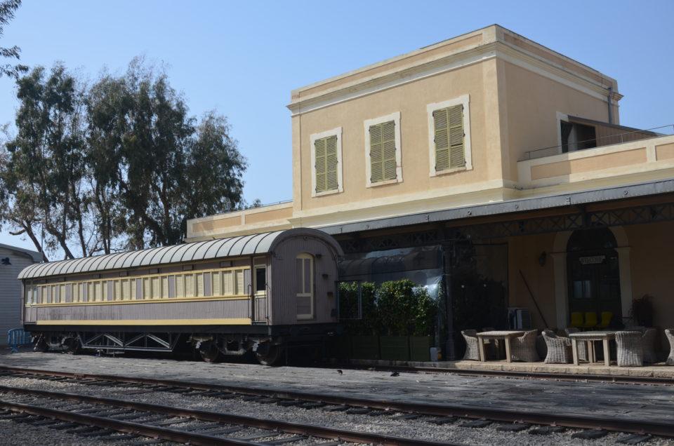 Zu den besten Tel Aviv Tipps zählt sicherlich auch der alte Bahnhof HaTachana.