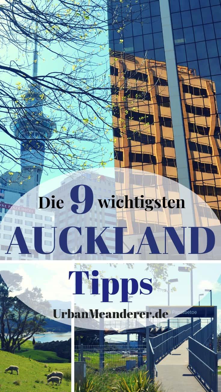Deine Reise nach Auckland will noch geplant werden? In diesem Artikel habe ich dir dafür die 9 wichtigsten Auckland Tipps zu Anreise, Flughafentransfer, günstigen Hotels & Co. gesammelt.