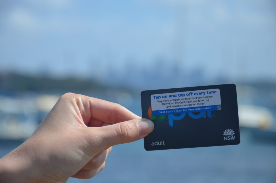 Sydney Reisetipps wären natürlich unvollständig ohne Tipps zur Nutzung der Opal-Card im Nahverkehr.