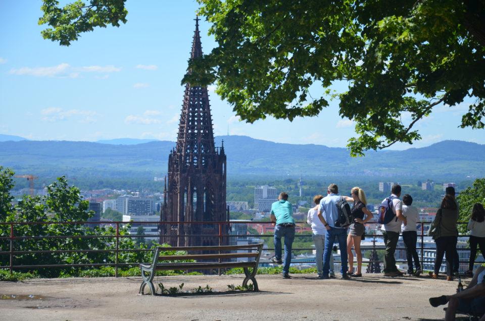 Zu den Freiburg Tipps gehört der Ausblick von der Ludwigshöhe unbedingt.