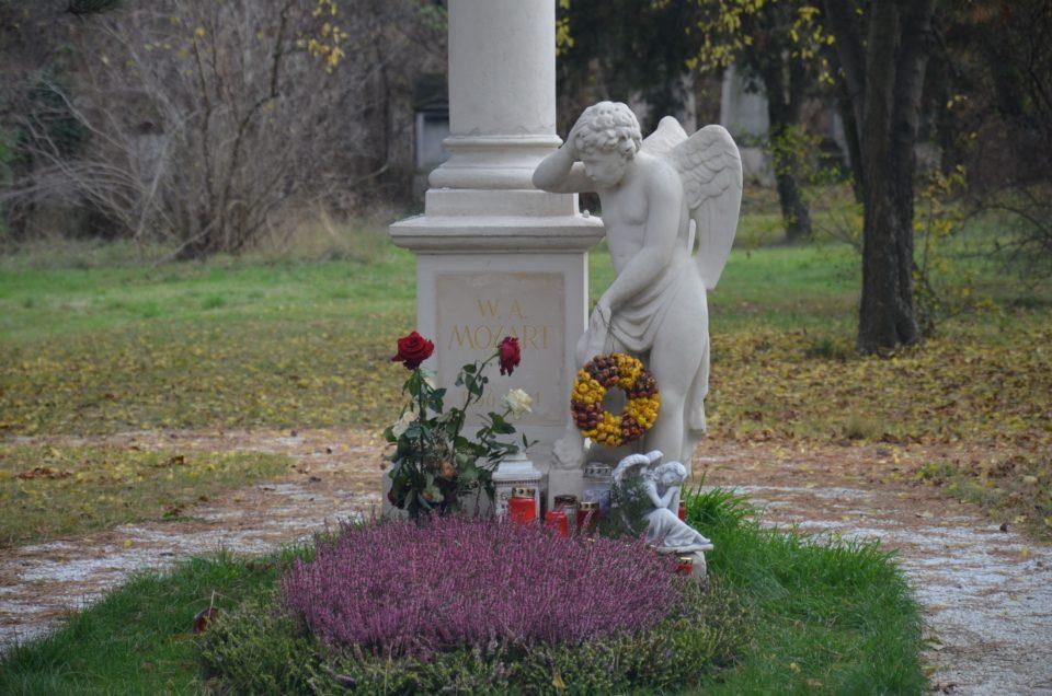 Zu den Wien Geheimtipps zählt der Sankt Marxer Friedhof trotz des Mozartgrabes.